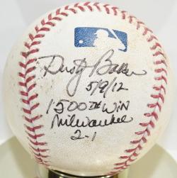 Autographed/Game Used Baseballs